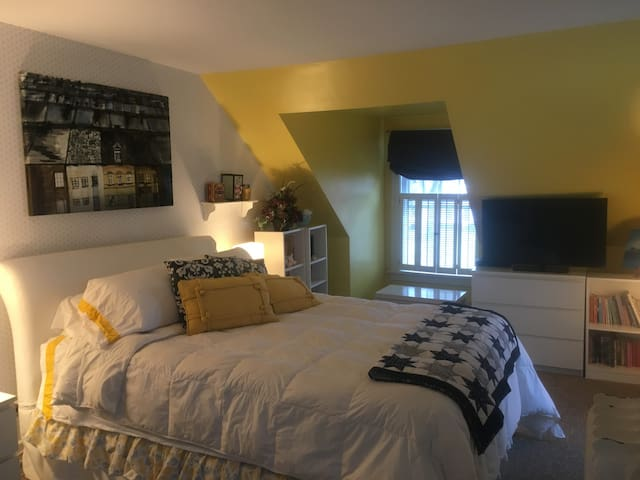 Lockport Home with a view - Room 1 Queen bed
