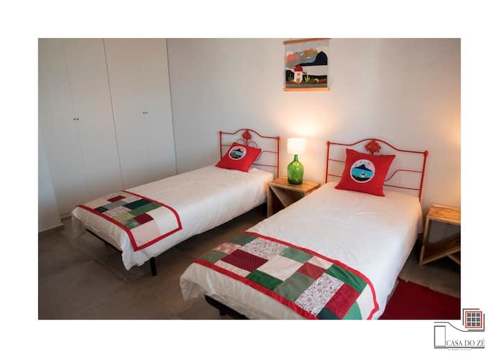 Casa do Zé - Apartamento Vermelho