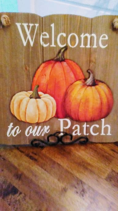 Welcome to Our Patch!  We will be decked out for fall!