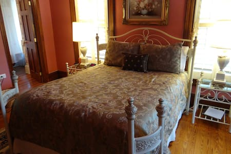 Welcome to the Mary Hoyt Room at Engadine, Asheville's Country Retreat!