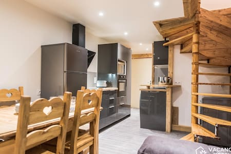 Val Thorens, Olympiades 715, ski-in / ski-out accommodation, up to 8 people - Val Thorens - Wohnung