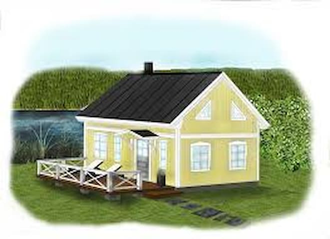 Little cottage on the countryside - Families enjoy - Lerum N - Cabin