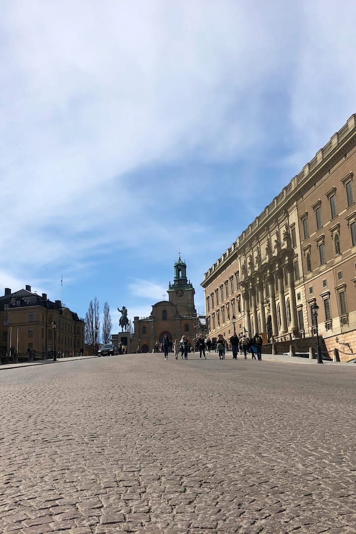 The old town - The Royal palace