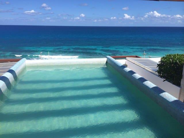 Nice condominium with best view 101 - Isla Mujeres - Apartamento