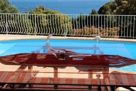 Villa provençale avec vue mer - Villa