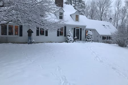 All seasons room in lovely Vermont! - Manchester - Casa