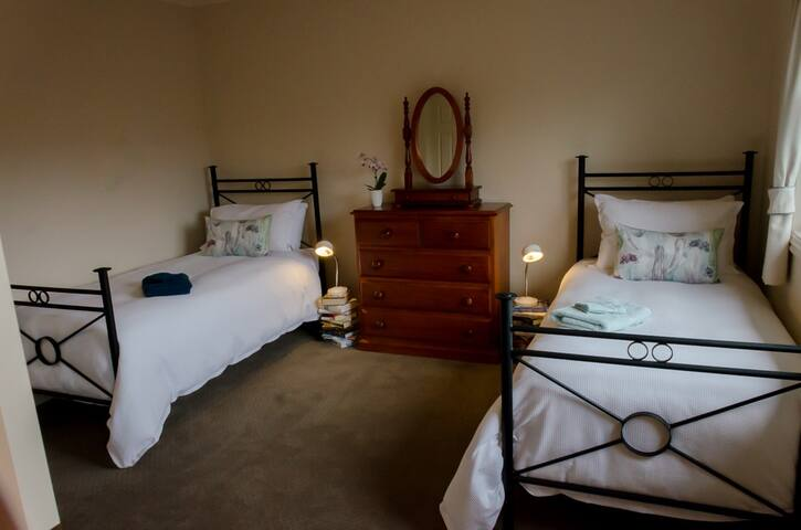 Twin single bed room