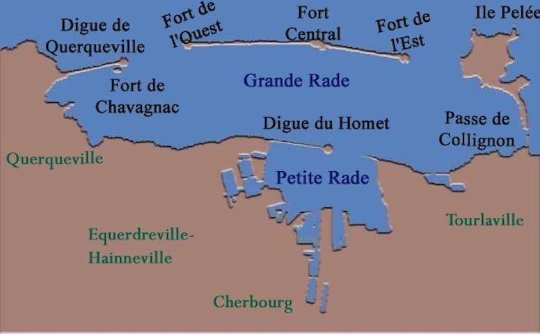 Chez Gégé - Équeurdreville-Hainneville - Apartmen