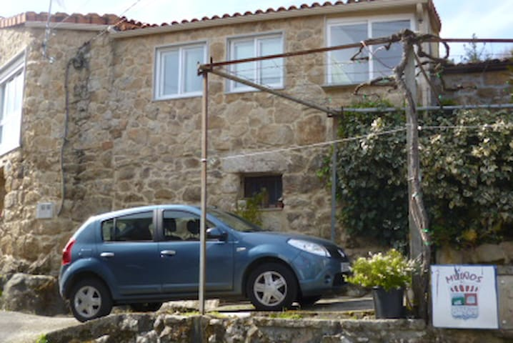 A casa da fonte - La maison de la fontaine Muiños