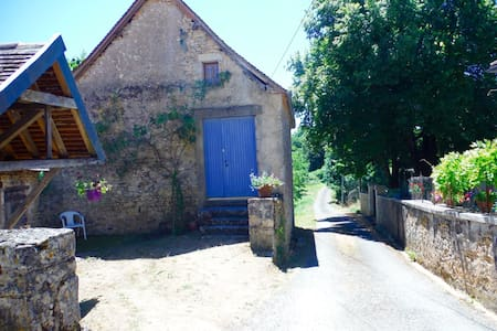 Rare Renovated Old House /Artist Studio - Sainte-Eulalie-d'Ans - Σπίτι