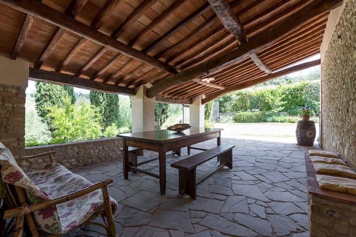 Apartment in Chianti villa, Casa Martini