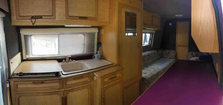 City centre House on wheels Motor home!