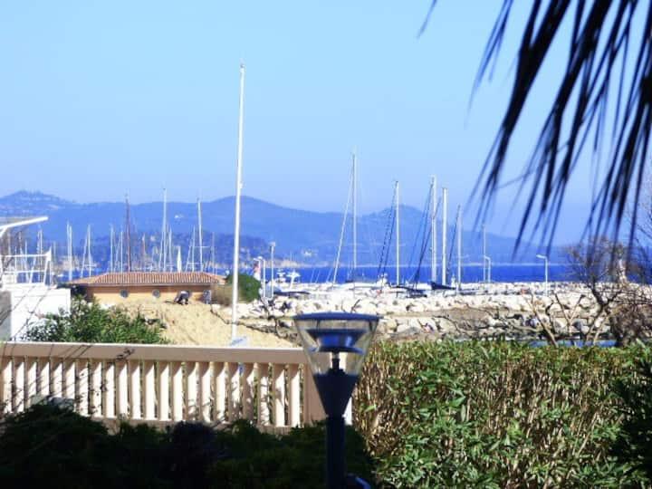 Appart.T2 4p.proche mer/ 100m de la plage /Calme