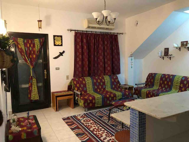 Perfect 2 bedroom apartment with outdoor area