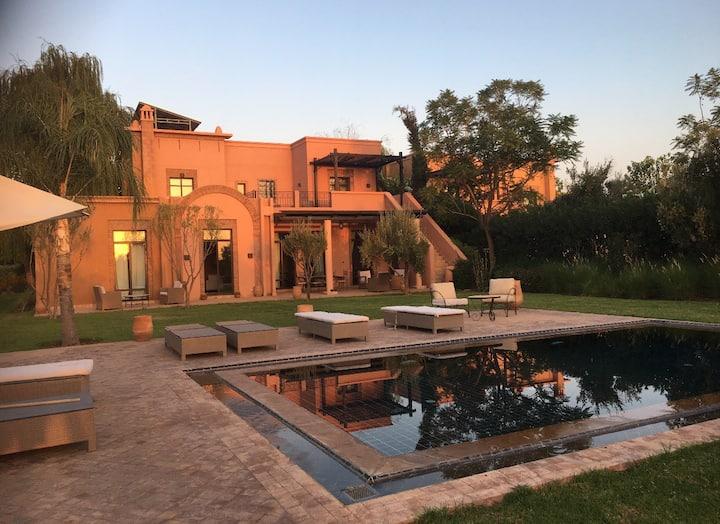 Villa resort Samanah 10km Marrakech