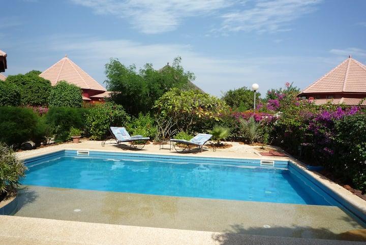 Villa à saly avec piscine privée