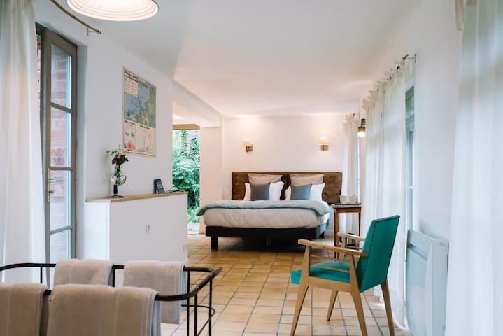 Le pré doré Chambres d'hôtes - Bonneville-la-Louvet - Appartement