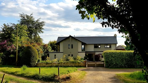 Beautiful home with views over the Surrey Hills.