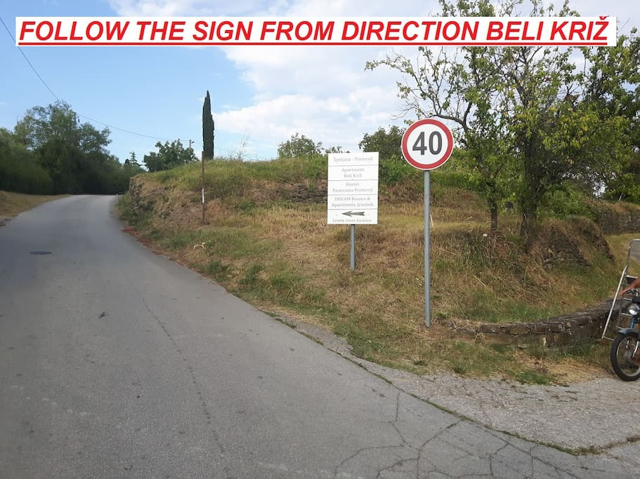 Follow this sign