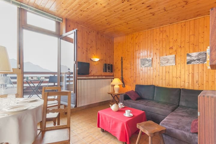 Appartement avec vue panoramique, proche des commerces