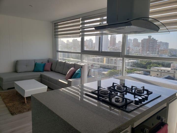 Espectacular penthouse-duplex en Barranquilla.