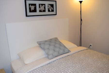 Modern studio in Hamtramck, queen bed - Hamtramck