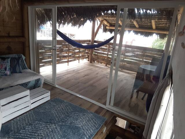 Bamboo Beach House #1, in town w/ luxury & view