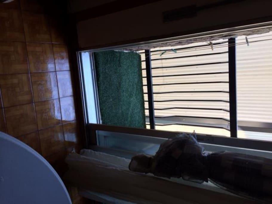 balcon con vista lateral a las pistas de esqui de GRANVALIRA