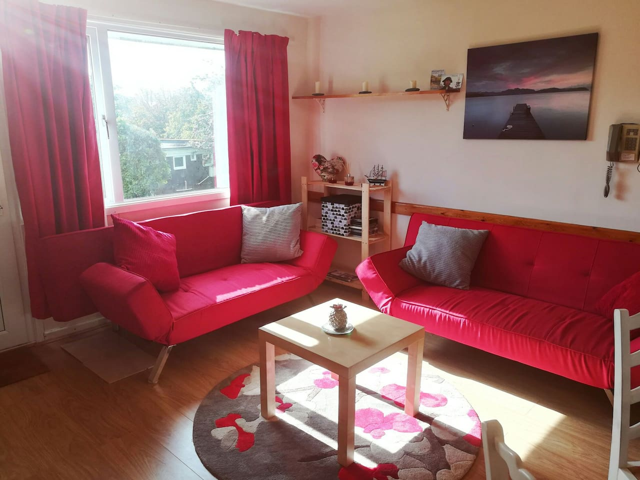 Welcome to your spacious lounge!