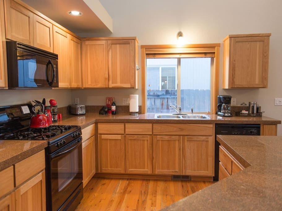 Full Kitchen. Everything you need for your home away from home.