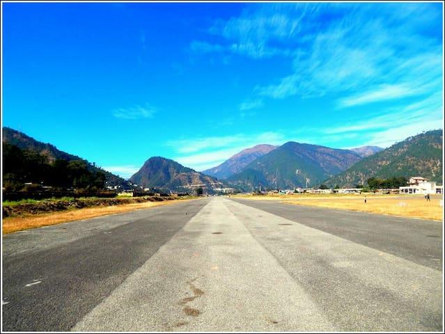 Gauchar airstrip