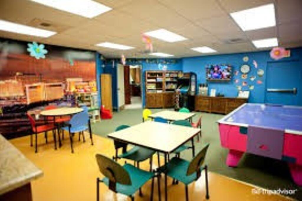 'The Zone' Kids area