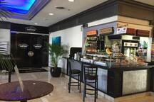 24 hour Coffee Shop in the lobby
