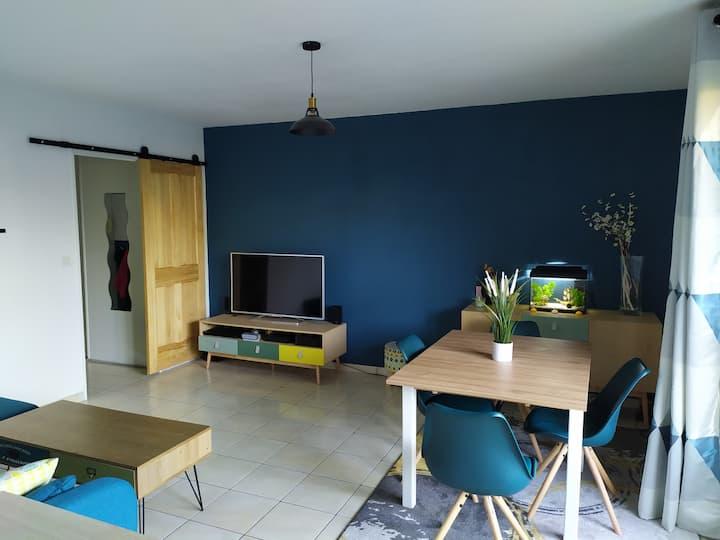 Appartement T3 62 m²
