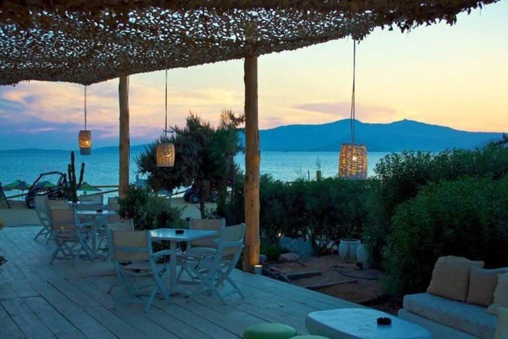 Naxos Island Local Beaches