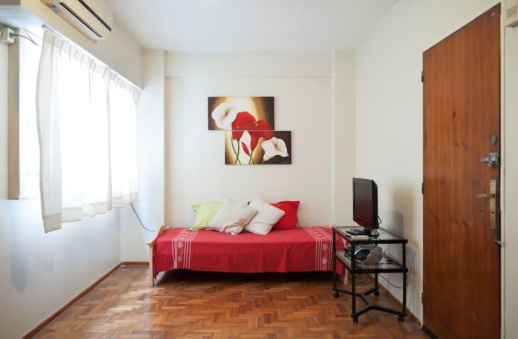 Confortable espacio en Caballito - Buenos Aires - Huoneisto