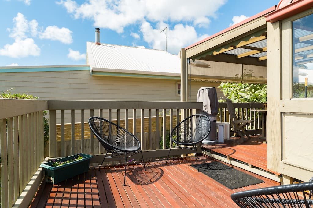 Additional deck space