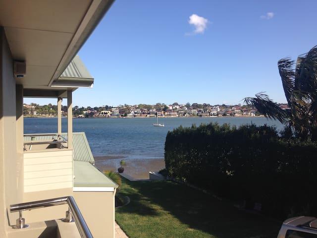 Modern Waterfront Flat, Kogarah Bay - Sans Souci - Apartemen