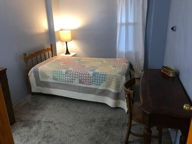 Quiet furnished basement apartment