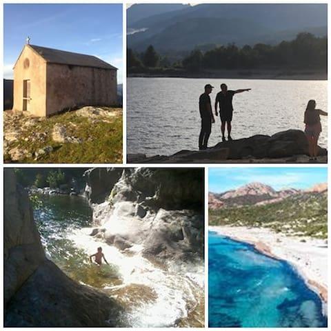 Nouveauté : Immersion au centre de la Corse.