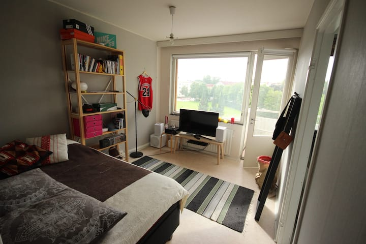 Nice and light studio close to the city center
