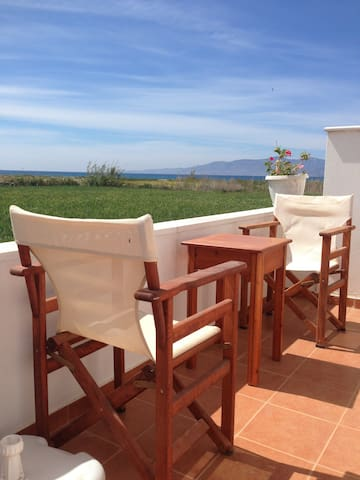 Depis studios on the beach triple with sea view - Plaka - Bed & Breakfast