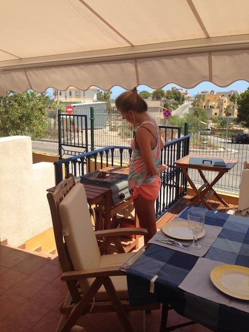 BBQ on the terrace
