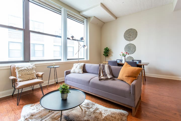 ⭐Sparkling Clean 2BR+ in unit W/D⭐LINCOLN Suite ⭐