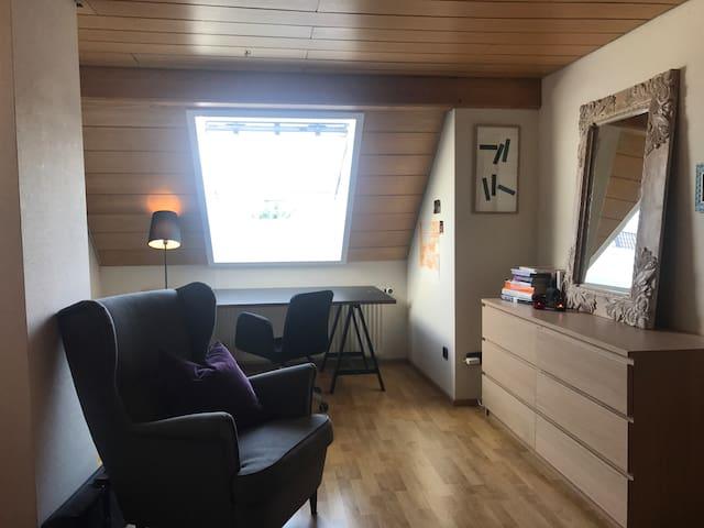 Gemütliches Zimmer am Bodensee - Friedrichshafen - Selveierleilighet
