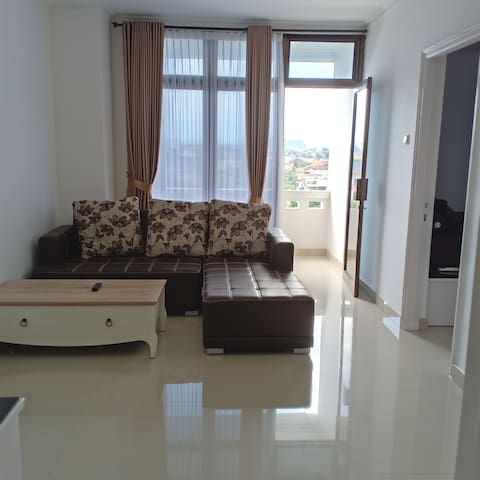 Family Apartment 2 bedroom near Malioboro