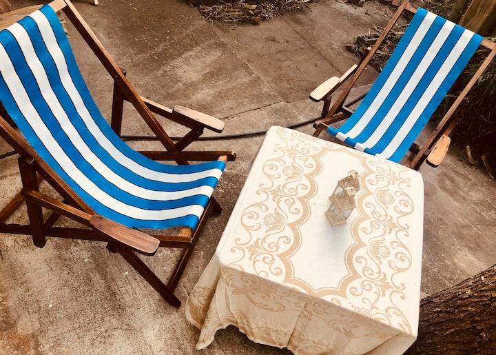 Monoambiente 2 pers. a 2 cuadras de playa