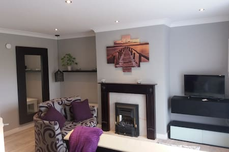 Entire 2Bed apartment,NaasTown Centre,with parking