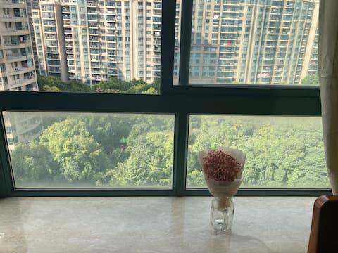 高级公寓单房(新房首登,美国PDI酒精物表消毒,全新斯林柏兰床垫)
