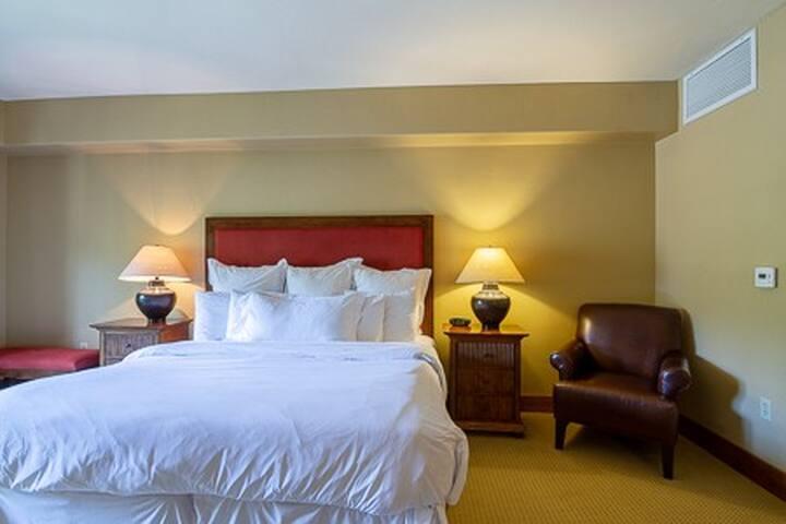 Lodge King Room 308 | Tamarack Resort | Sleeps 2